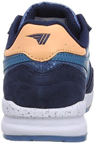 Gola Femmes Samurai Cla703 Mode Sneaker Silex / Marine / Sarcelle