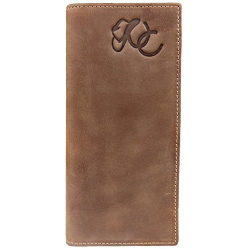(Mens Western Rodeo Wallet by Urban Cowboy - Genuine Leather)
