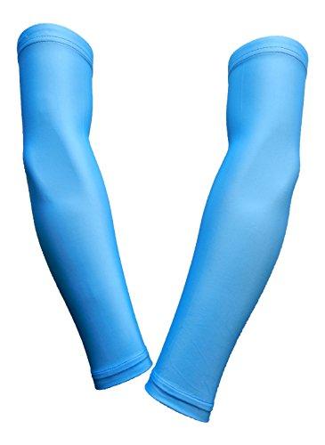 light blue running sleeves - 3