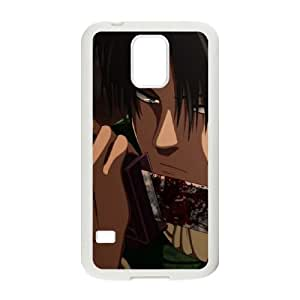 Attack On Titan Samsung Galaxy S5 Cell Phone Case White Custom Made pp7gy_3348503