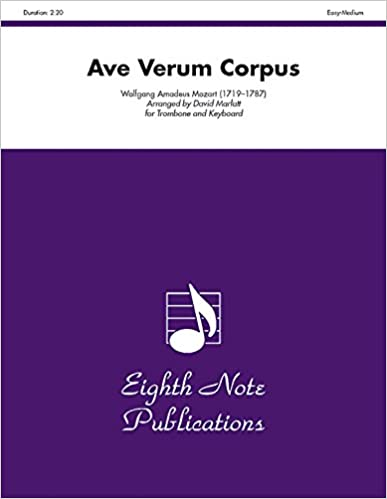 Varaa lataukset ipadille Ave Verum Corpus: Part(s) (Eighth Note Publications) 1554720826 PDF PDB