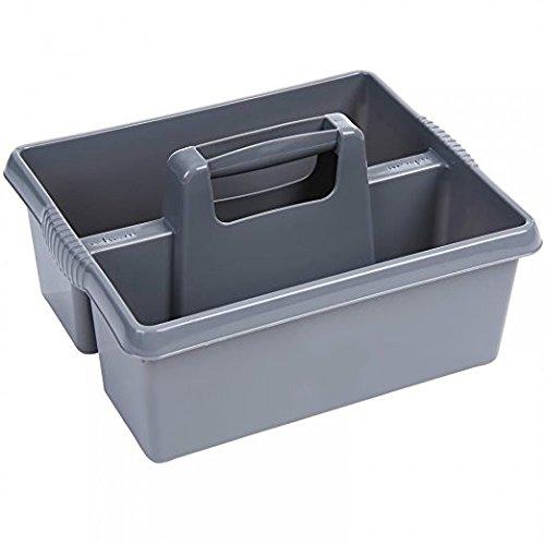 cestino per il trasporto Grande organizer da cucina per la pulizia grigio vassoio resistente