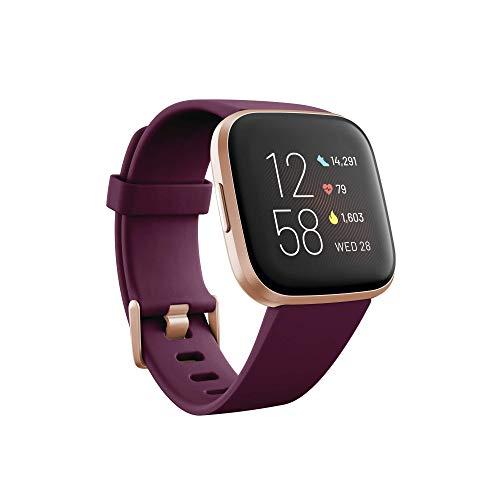 Fitbit Versa 2, Smartwatch con control por voz, puntuación del sueño y música, batería de +4 días [Exclusiva Amazon]