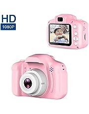 Mini fotocamera digitale per bambini HD 1080P Display a colori da 2,0 pollici Giocattoli educativi per bambini Fotocamere digitali per bambini Compleanno Regalo di Natale Capodanno