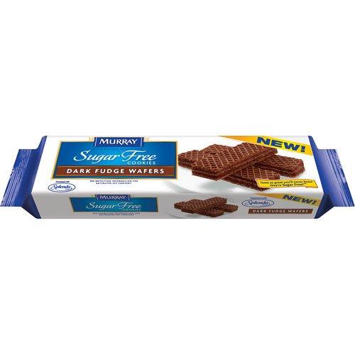 (Murray Sugar Free Cookies Dark Fudge Wafers)