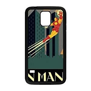 Samsung Galaxy S5 Cell Phone Case Black_Iron Man Noir Uourl