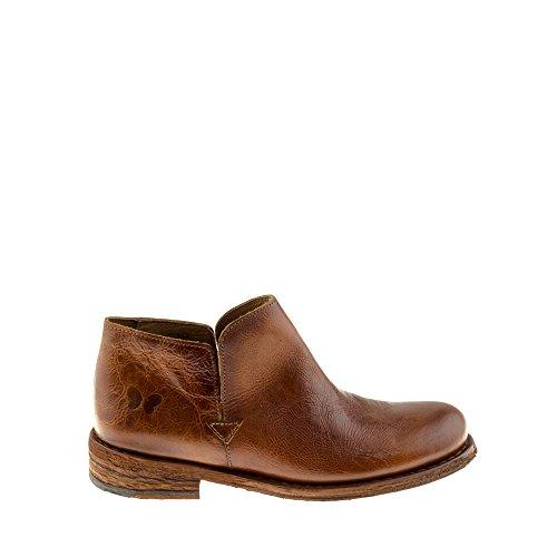 Felmini Zapatos Para Mujer - Enamorarse com Gredo A945 - Botas Casual - Cuero Genuino - Marrón Marrón