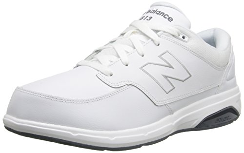 New Balance Men's MW813 Walking Shoe-M Walking Shoe, White, 10 2E US