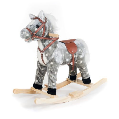 Rocking Horse Rocker (Happy Trails Rocking Haley Horse Ride On)