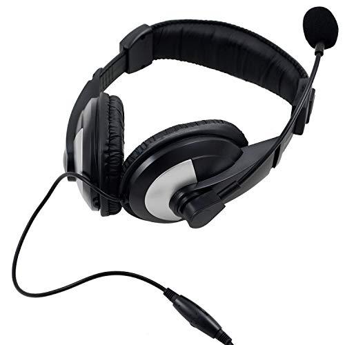 iMicro IM750BM Leather Headset w/ -