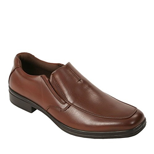 picture of DEER STAGS Men's Fit Slip-On Loafer (Redwood 10.0 W)