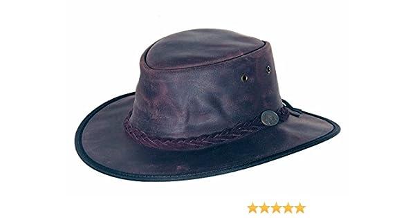 Sombrero de Piel Durras by Scippis sombrero de vaqueropiel natural sombrero  de vaquero  Amazon.es  Ropa y accesorios 0a8cbea2ae5