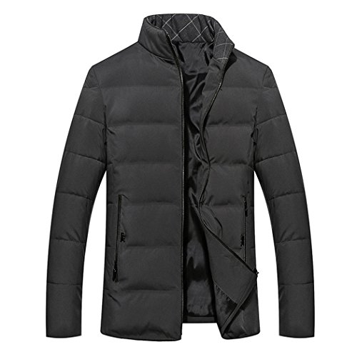 winter feather padded 170 collar wear men's Ash The casual men's HHY cotton color wTHfqn5