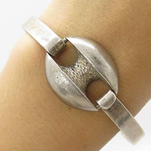 GR Signed Anchor Bangle Bracelet 7'' DG-1474