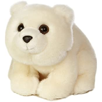Aurora World Plush Arctic Polar Bear, 10""