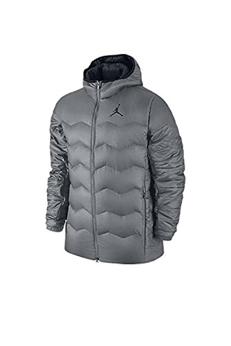 Jordan Flight Hyperply Jacket - Men's (Large, Grey) by Jordan