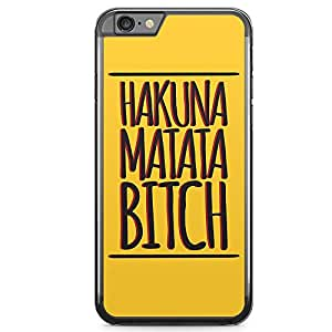 Loud Universe Hakuna Matata iPhone 6 Plus Case The Lion King Word iPhone 6 Plus Cover with Transparent Edges