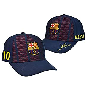 Gorra FC. Barcelona - Producto Oficial Licenciado - Player Messi-18 - Talla Adulto ajustable