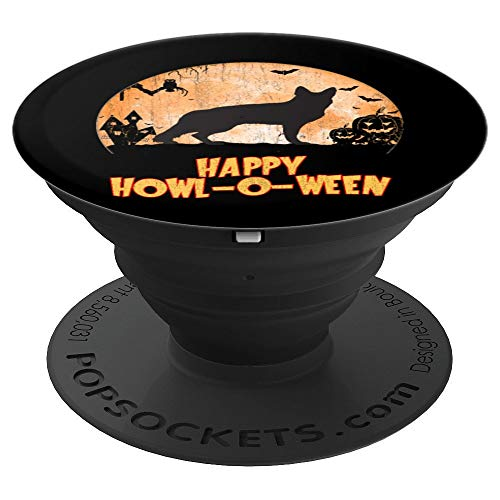 German Shepherd Halloween - PopSockets Grip and Stand for Phones and Tablets -