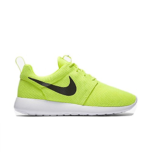 Nike Mens Roshe One Running Shoes, verde, nero, bianco (Volt/Black/White), 42.5 D(M) EU/8 D(M) UK