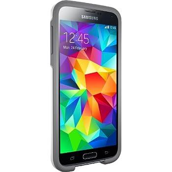 Otterbox SYMMETRY SERIES for Samsung Galaxy S5 - Retail Packaging - GLACIER (WHITE/GUNMETAL GREY)