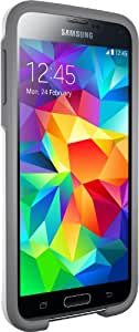 Otterbox [Commuter Series] Samsung Galaxy S5 Case - Standard Packaging Protective Case for Galaxy S5  - Glacier (White/Gunmetal Grey)