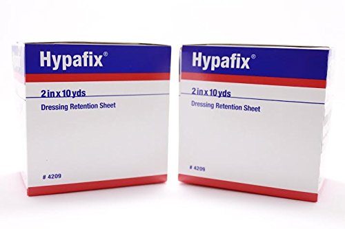 (Hypafix Dressing Retention Tape 2 Inch x 10 Yards - Pack of 2 Rolls)