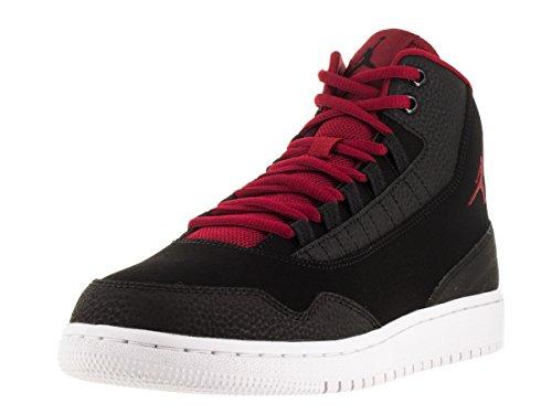 Nike Jordan Executive Bg, Zapatillas de Deporte para Niños Negro / Rojo / Blanco (Black / Gym Red-Gym Red-White)