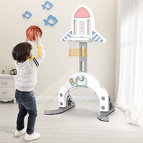 子供のバスケットボールボックス屋内家庭用撮影ラックベビー幼児缶リフト1-2歳の女の子のおもちゃボールボーイ