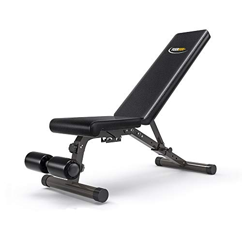 FEIERDUN FEIERDUN Workout Bench,Utility Foldable Adjustable Weight Benches with 5 Back Pad Positions from Incline/Decline with 3 Position Seat price tips cheap