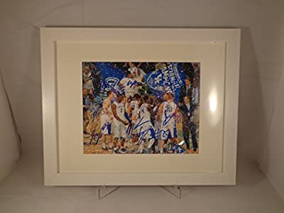 Kentucky UK Wildcats 2011-2012 Multi Signed 8X10 Photo w/ Frame & COA