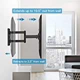 PERLESMITH TV Wall Mount for Most 26-55 Inch Flat