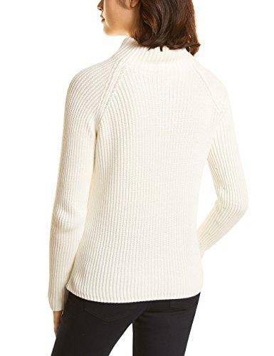 Knit white Jersey One 11128 Mujer Para Street off Blanco wq0HTnTYx