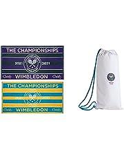 Wimbledon 2021 ręcznik do tenisa dla kobiet i mężczyzn na court Player Towel zestaw 2 sztuk