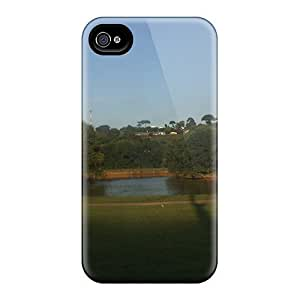 Premium Iphone 4/4s Case - Protective Skin - High Quality For One Park Of Curitiba Brazil