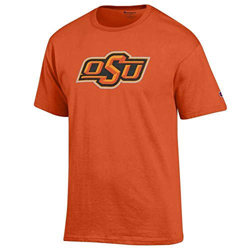 Elite Fan Shop Oklahoma State Cowboys TShirt Icon Orange - (Oklahoma State Cowboys University Fan)