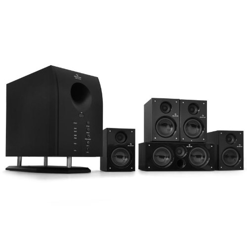 Auna XCess 5.1 aktives Surround Boxen Lautsprecher Set 6500W PMPO - 95 Watt RMS