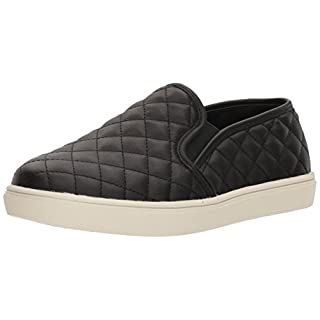 Steve Madden Women's Ecentrcq Slip-On Fashion Sneaker,Black,8.5 M US