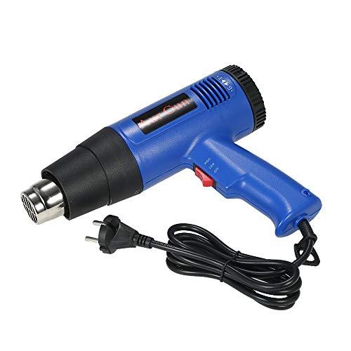 Toolso 1800W Fast Heating Hot Air Gun Industrial hair dryer Adjustable Temperature hot gun soldering Heat gun Blower 4 Nozzles AC220V