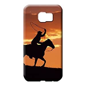 samsung galaxy s6 Hybrid High-end Forever Collectibles phone carrying skins western cowboy