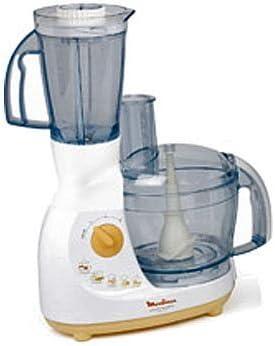 Moulinex FP6011 - Robot de cocina (2,2 L, Blanco, 1,25 L, 700 W ...