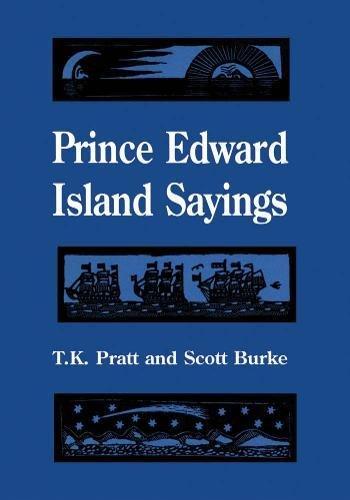 Prince Edward Island Sayings (Heritage)