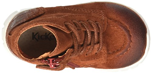 Kickers Marcelo - Zapatos de primeros pasos Bebé-Niñas Rouge (Bordeaux)