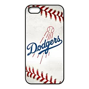 Customize MLB Los Angeles Dodgers Back Case for iphone 5,5S JN5S-1961