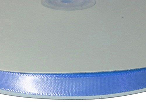 Mist Blue Ribbon (Homeford Single Face Satin Ribbon, 1/4-Inch/100-Yard, Blue Mist)