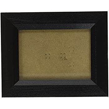 craig frames 7171610bkc1123aac 0825 inch wide pictureposter frame in wood grain finish 11 by 23 inch solid black