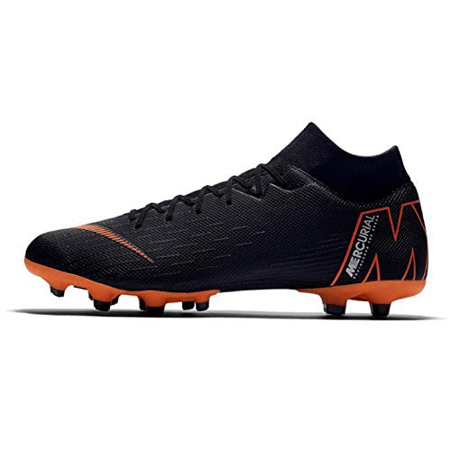 Nike Mercurial Superfly 6 Academy MG (Black/Total Orange) (Men's 12.5/Women's 14)