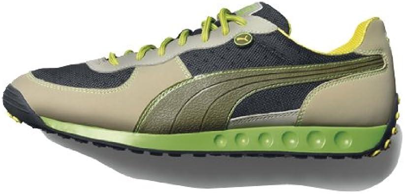 scarpe puma uomo verde militare
