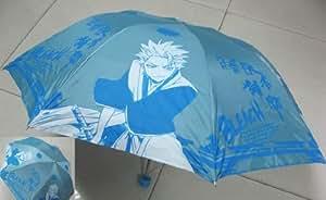 Bleach: Captain Toshirou Hitsugaya Blue/White Umbrella