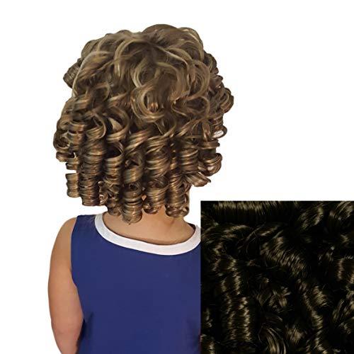 Cheerleader Ringlet Curly Drawstring Ponytail (6: Chestnut Brown) -